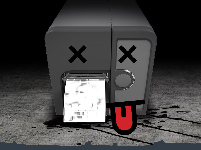 The 6 Most Critical Barcode Printer Choking Hazards