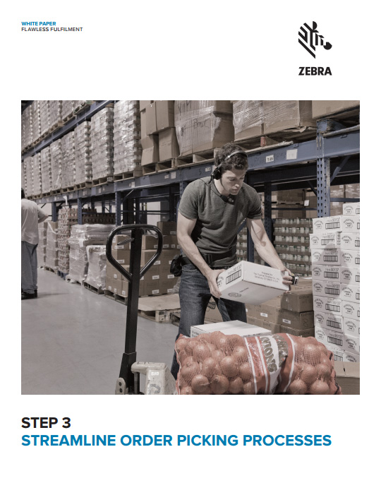 Step 3. Streamline order picking processes